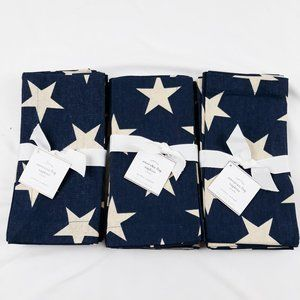 Pottery Barn American Flag Napkins